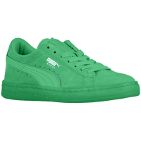 PUMA Suede Classic - Boys' Preschool - Light Green / Light Green