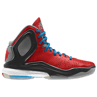 adidas D Rose 5 Boost - Boys' Grade School -  Derrick Rose - Red / Light Blue