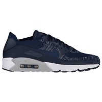 Nike Air Max 90 Ultra 2.0 Flyknit - Men's - Navy / Grey