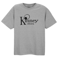 Kinney Shoes Logo T-shirt - Men's - Grey / Black