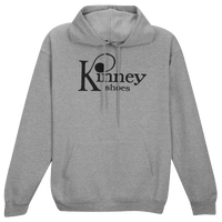 Kinney Shoes Logo Fleece Hoodie - Men's - Grey / Black