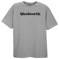 Woolworth Logo T-shirt - Men's - Grey / Black