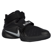 Nike Soldier IX - Boys' Preschool - Black / Silver
