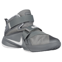 Nike Soldier IX - Boys' Preschool - Grey / White
