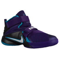 Nike Soldier IX - Boys' Preschool - Purple / White