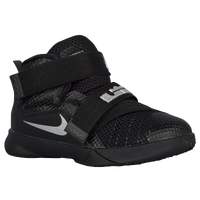Nike Soldier IX - Boys' Toddler - Black / Silver