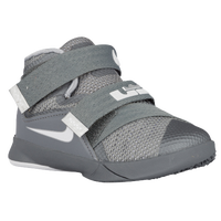 Nike Soldier IX - Boys' Toddler - Grey / White