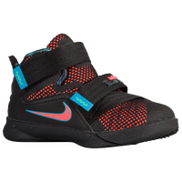 Nike Soldier IX - Boys' Toddler - Black / Orange