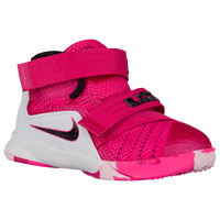 Nike Soldier IX - Boys' Toddler - Pink / White