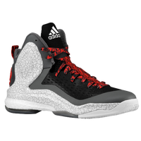 adidas D Rose 5 Boost - Men's -  Derrick Rose - Black / White