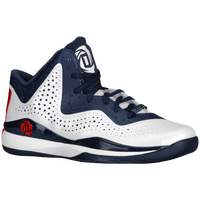 adidas D Rose 773 III - Men's - White / Navy