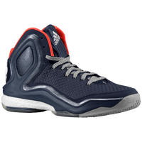 adidas D Rose 5 Boost - Men's -  Derrick Rose - Navy / White