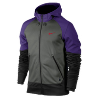 Nike OT Hero FZ Hoodie - Men's - Grey / Black