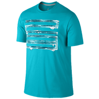 Jordan Retro 11 Icy 23 T-Shirt - Men's - Light Blue / Black