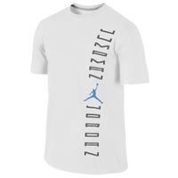 Jordan Retro 11 Jumpman Jordan T-Shirt - Men's - White / Blue