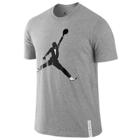 Jordan Retro 11 Black Tie T-Shirt - Men's - Grey / Black