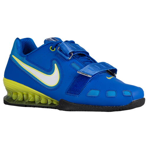 Nike Romaleos II Power Lifting - Men\u0026#39;s - Blue / White