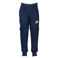 Nike Air Knit Pants - Boys' Toddler - Navy / Grey