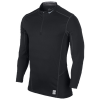 Nike Hyperwarm Lite Fitted 1/4 Zip - Men's - Black / Grey