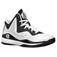 adidas D Rose 773 III - Boys' Grade School -  Derrick Rose - White / Black