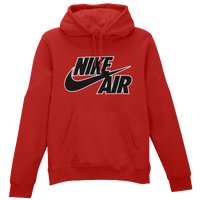 Nike BB Pivot Splatter Print Fleece Hoodie - Men's - Red / Black