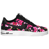 Nike Air Force 1 AC - Boys' Grade School - Black / Pink
