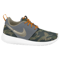 Nike Roshe One - Boys' Grade School - Grey / Dark Green
