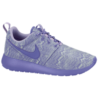 Nike Roshe One - Girls' Grade School - Purple / Purple