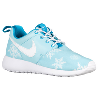 Nike Roshe One - Girls' Grade School - Light Blue / White