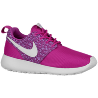 Nike Roshe One - Girls' Grade School - Purple / White