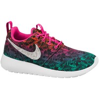 Nike Roshe Run - Girls' Grade School - Pink / Orange