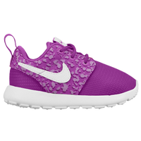 Nike Roshe One - Girls' Toddler - Purple / White