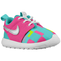 Nike Roshe Run - Girls' Toddler - Pink / Light Blue
