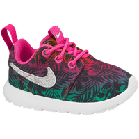 Nike Roshe One - Girls' Toddler - Pink / Grey
