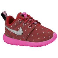 Nike Roshe Run - Girls' Toddler - Red / Pink
