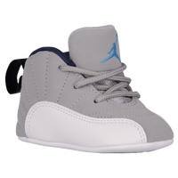 infant jordan 12 grey white