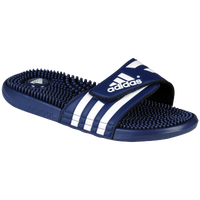 adidas Adissage Slide - Men's - Navy / White