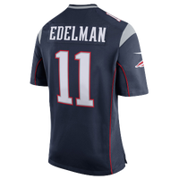 Nike NFL Game Day Jersey - Men's -  Julian Edelman - New England Patriots - Navy / White