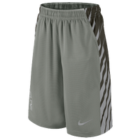 Nike Elite Powerup Shorts - Boys' Grade School - Grey / Grey
