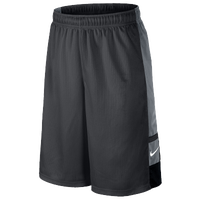 Nike Franchise Shorts - Boys' Grade School - Grey / Black