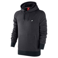 Nike AW77 FT Shoebox Fleece Hoodie - Men's - Grey / Black