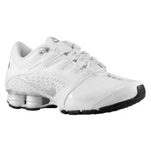 Nike Shox Vaeda - Women's - White/Metallic Silver/Black