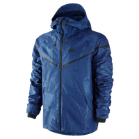 Nike Tech Windrunner Jacket - Men's - Blue / Black