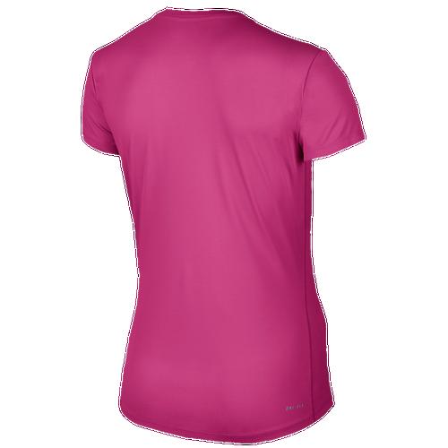 Nike dri fit challenger short sleeve t shirt women 39 s for Nike dri fit t shirt ladies
