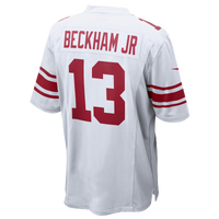 Nike NFL Game Day Jersey - Men's -  Odell Beckham - New York Giants - White / Red