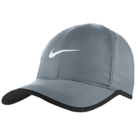 Nike Dri-FIT Featherlight Cap - Men's - Grey / Black