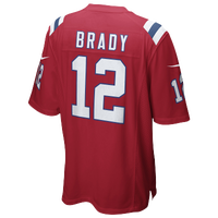 Nike NFL Game Day Jersey - Men's -  Tom Brady - New England Patriots - Red / White