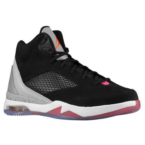 Jordan Future Flight Remix - Men\u0026#39;s - Basketball - Shoes - Black/Electro Orange/Wolf Grey/Fusion Pink