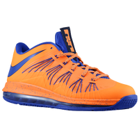 Nike Air Max LeBron X Low - Men's - Orange / Purple