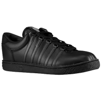 K-Swiss Classic Leather - Boys' Grade School - All Black / Black